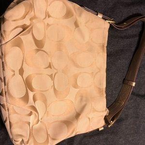 Gold Coach purse